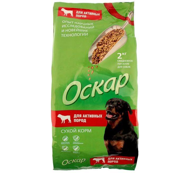 можно ли кормить собаку кормом оскар