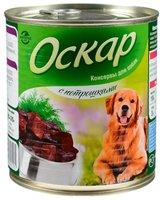 Влажный корм Оскар Консервы для собак с Потрошками (0.35 кг) 1 шт.