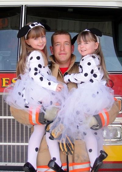Костюм собаки далматинца для ребенка девочки